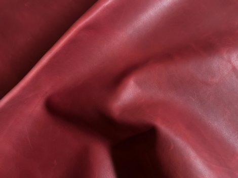 marha zsíros bőr, piros