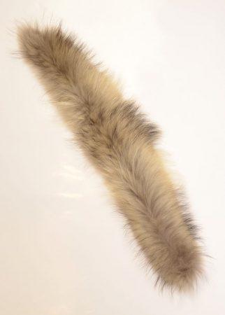Coyote fur hood trim - collar fur for hood