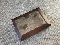 Ékszerdoboz fóka prémmel díszítve