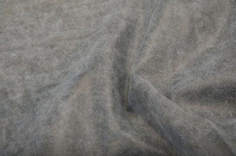 Cow nappa worn leather - silver