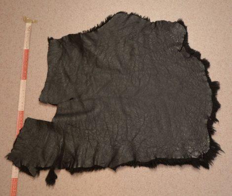 Double face lambskin nappa, black