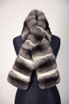 Chinchilla fur scarf